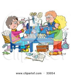 Laboratory clipart group scientist