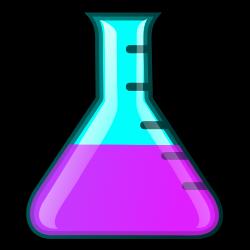 Alchemy clipart erlenmeyer