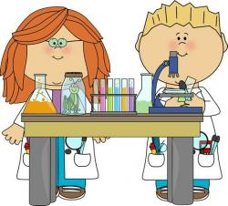 Laboratory clipart kid scientist