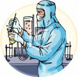 Laboratory clipart lab assistant