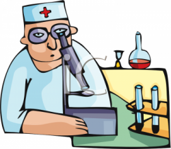 Medical clipart microscope