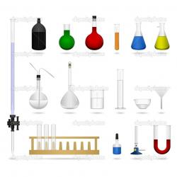 Metal clipart science equipment