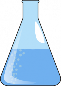 Laboratory clipart mixture