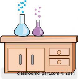 Scientist clipart desk
