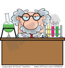 Scientist clipart science fair