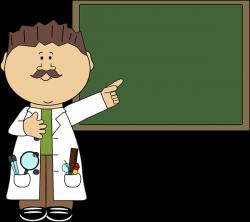 Blackboard clipart science
