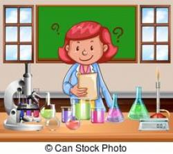Laboratory clipart science teacher