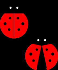 Small clipart ladybug