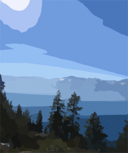 Lake Tahoe clipart
