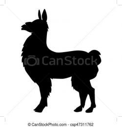 Lama clipart south america