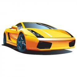 Lamborghini clipart cartoon