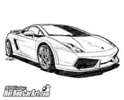 Lamborghini clipart luxury car