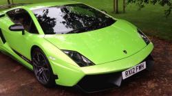Lamborghini clipart neon green