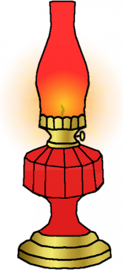 Oil Lamp clipart cartoon