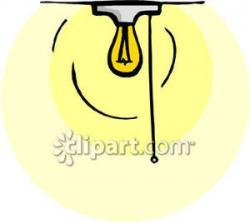 Light Bulb clipart ceiling light