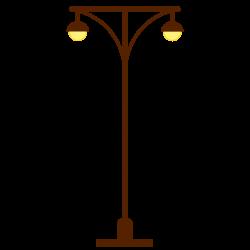 Streetlight clipart light pole
