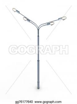 Lamp Post clipart electricity post