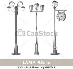 Street Light clipart electric post