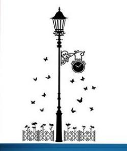 Lamp Post clipart wall lamp
