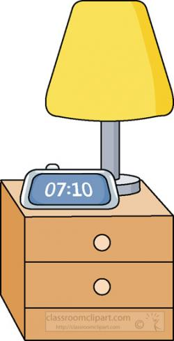 Lamps clipart bedroom furniture
