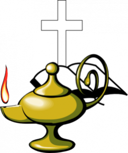 Oil Lamp clipart biblical