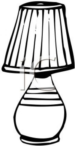 Lamps clipart black object