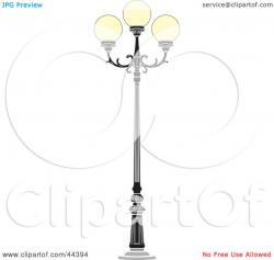 Lamps clipart brown