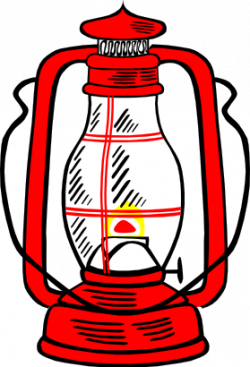 Lamps clipart camp