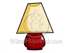 Lamps clipart cartoon