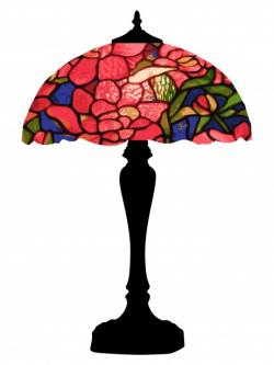 Lamps clipart colorful