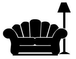 Lamps clipart couch