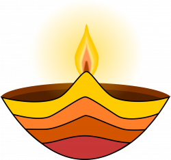 Lamps clipart diwali candle