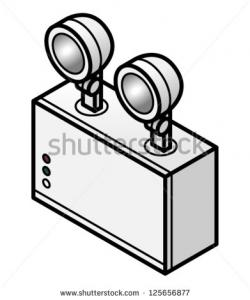Lamps clipart emergency light