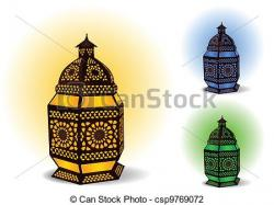 Lamps clipart islamic