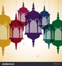 Lantern clipart islamic