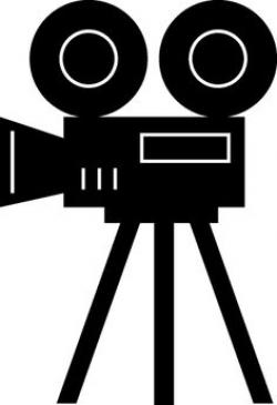Movie clipart lights camera