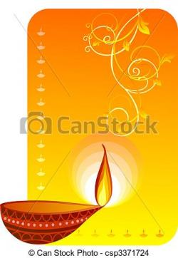 Oil Lamp clipart mud