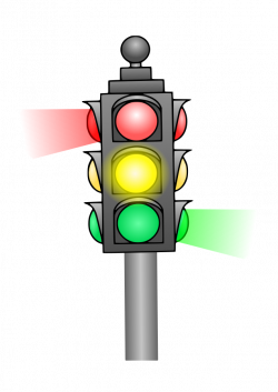Traffic Light clipart cute