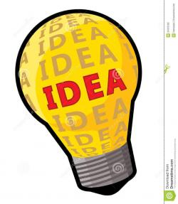 Light Bulb clipart thinker