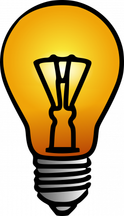 Lamps clipart yellow thing