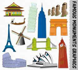 Monument clipart landmark