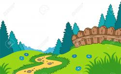 Countyside clipart landscape