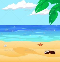Coast clipart beach landscape