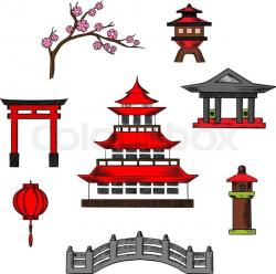 Pagoda clipart chinese architecture