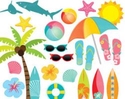 Surfer clipart cute