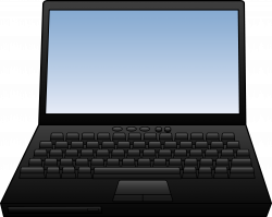 Keyboard clipart laptop computer