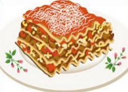 Lasagne clipart