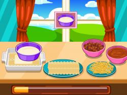 Lasagne clipart card game