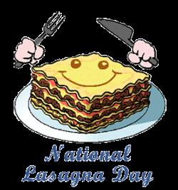 Lasagne clipart day