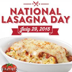 Lasagna clipart day